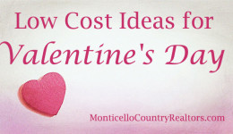 Low Cost Ideas for Valentine's Day