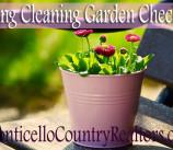 Spring Cleaning Garden Checklist