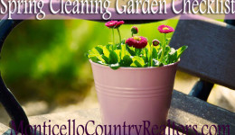Spring Cleaning Garden Checklist