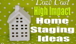 Low Cost, High-Impact Staging Ideas That Work